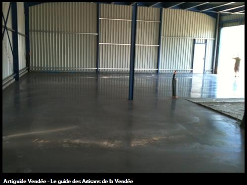 Prodallage b ton d coratif sainte hermine for Dalle beton finition quartz